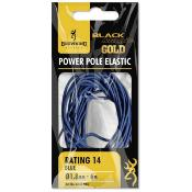 BROWNING BLACK MAGIC® GOLD POWER ELASTIC VERT Ø1.4MM