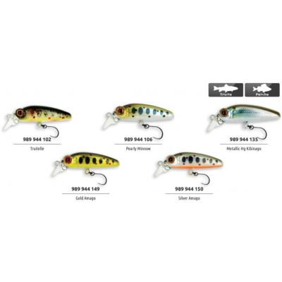 POISSON NAGEUR ADAM'S HAMEÇON SIMPLE MINNOW 30F Truitelle