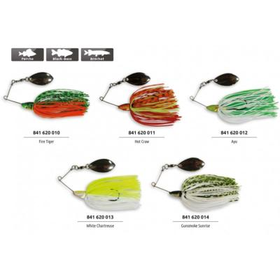 SPINNERBAIT ADAM'S XTRA SMALL FIRE TIGER